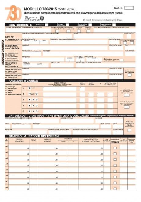 730 sgravi fiscali famiglie detrazioni e deduzioni fiscali for 730 anno 2017